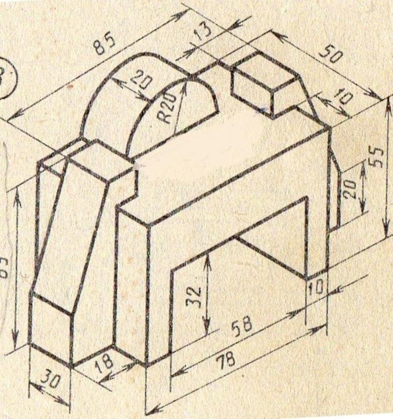 kak sozdatj 3d modelj po izometrii