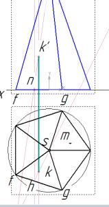proekcii tochek na piramide