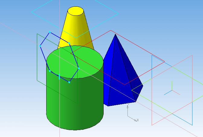 gruppa geometricheskikh  tel prizma