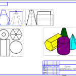 proekcii gruppih geometricheskikh tel