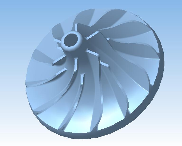 turbina v kompase